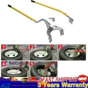 17 5 To 24 Inch Tire Changer Mount Demount Tool Kits Tubeless Truck Bead 3pcs