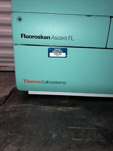 Thermo Labsystems Fluoroskan Ascent Fl Microplate Reader Type 374 W Manuals