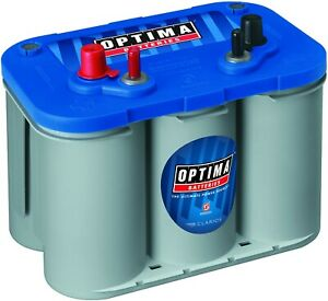 Optima 8016 103 Group D34m Blue Top Marine Battery