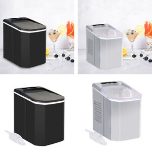 Countertop Portable Ice Maker Compact Ice Cube Machine Home Dorm Kitchen New