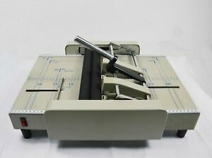 110v Booklet Maker Making Saddle And Side Staple Automatic Book Us Office