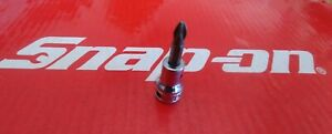Snap On Tools 3 8 Drive 2 Phillips Bit Socket Driver Fp22a Ships Free