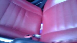 2011 2014 Charger Passenger Front Seat Leather Manual Red Heated