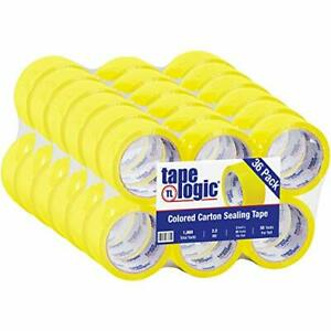 Aviditi Tape Logic 2 Inch X 55 Yard 2 2 Mil Yellow Heavy Duty Colored Packing