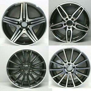 Selection Of Mercedes A Class Cla Amg 17 18 Alloy Wheel Rims W176 W177 2018 19