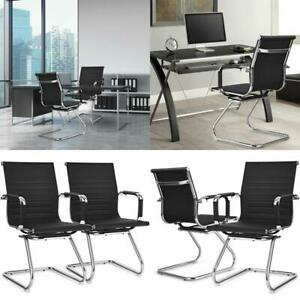 Set Of 2 Office Guest Chairs Waiting Room Chairs