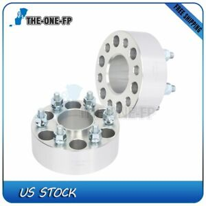 2 2 6 Lug Hubcentric Wheel Spacers Adapters 6x4 5 For Nissan Frontier 12x1 25