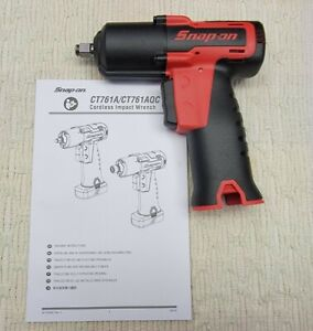 New Snap On Ct761 14 4 Volt Microlithium 3 8 Drive Cordless Impact Wrench