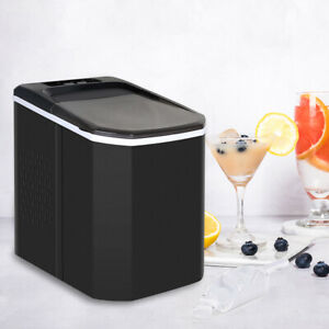 Countertop Portable Ice Maker Compact Ice Cube Machine Home Dorm Furniture New