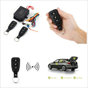 Car Remote Control Central Kit Door Keyless Entry System Locking Trunk Release