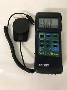 Extech 407026 Foot Candle lux Heavy Duty Light Meter