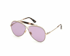 Tom Ford Sunglasses Ft 0818s 0818 28z Gold Pink Lens Holden New Authentic 60mm