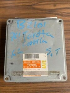 Used Oem 1994 Toyota Corolla 89661 1a171 Engine Computer