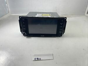 08 09 10 Grand Caravan T c Journey Ram Mp3 Wma Hdd Radio 05064245aj 080