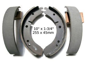 Mintex Bonded Brake Shoes For Mg Magnette Za Zb Mga 1500 1600 Sunbeam 90 90 Mkii