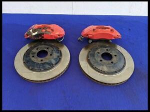 2011 2014 Ford Mustang Gt Boss Front 4 Piston Brembo Brake Calipers Rotors