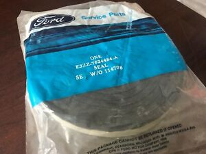 Fox Body Mustang Nos Ford Weatherstrip Roll In Ford Bag E3zz 7624484 A