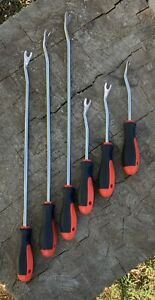 Jubilee Tools 6pc Panel Trim Removal Tool Set Extra Long Snap Up A Bargain
