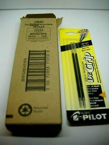 Pilot Dr Grip 77210 Fine Point Black Ink 4 2 Packs Free Shipping