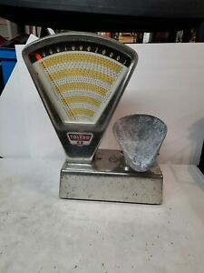 Vintage Toledo Scale Hardware Store Scale 3lbs Model 3111 Made In Usa