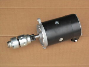 Starter W Drive For Ford 600 601 611 620 621 630 631 640 641 650 651 660 661