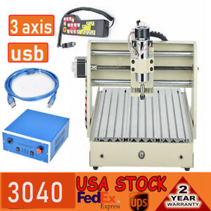 Usb 3axis 3040 Cnc Router Engraving Carving Machine Milling remote Controller