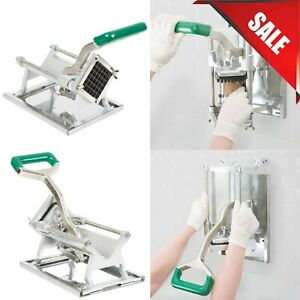 1 2 Restaurant Commercial French Fry Vegetable Cutter Chopper Dicer Wall Mount