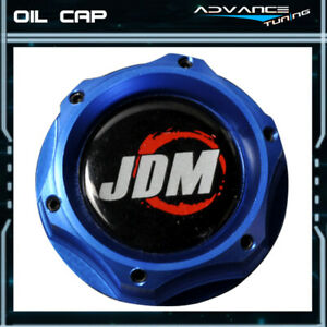 Fits Honda Civic Prelude Acura Blue Twist On Jdm Engine Oil Filler Cap Cover