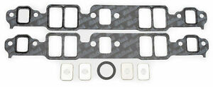 7201 Edelbrock Intake Manifold Gaskets Composite 060 Thick Small Block Chevy