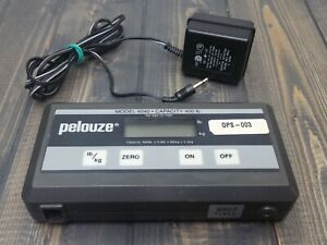 Pelouze 4040 400 Lbs 180 Kg Capacity Digital Scale Screen Power Supply Only