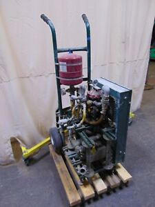 Custom Built Cart With 1 5 Hp Electric Motor Hypro D30 Diaphragm Pump 9 5 Gpm