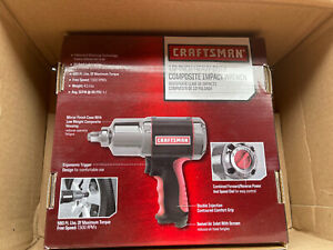 New Craftsman 1 2 In Pneumatic Composite Heavy Duty Impact Wrench