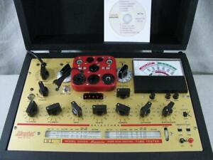 Hickok 6000a Mutual Conductance Tube Tester Calibrated Specs Near Perfect