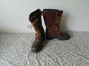 Hoffman s Winter Lineman Boots Size 13 With Thinsulate Inserts Gently Used