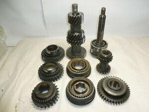 66 Ford Mustang Borg Warner T 10 Q Wide Ratio 4 Speed Transmission Gear Train