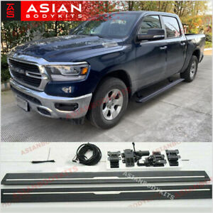 Electric Side Step Running Boards For Dodge Ram 1500 2019 Crew Cab 5 Gen