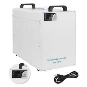 110v Cw 5000 Industrial Water Chiller Cooler For Cnc Cooling Engraving Machine