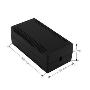 Plastic Electronic Project Box Waterproof Cover Instrument Case Enclosure Holder