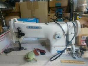 Leather Shop Incl Leather Sewing Machine Goods