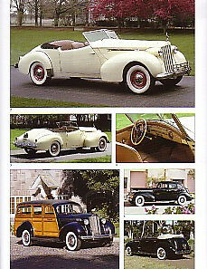 1939 Packard Darrin Victoria 120 Convertible Woody Wagon Article Must See