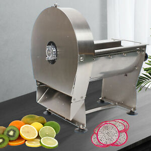 Commercial Electric manual Potato Chip Cutter French Fries Vegetable Cut Slicer