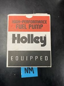 Holley 110 Gph Blue Electric Fuel Pump With Regulator 12 802 1 Kit Open Box