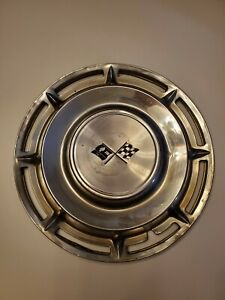 Corvette vintage 14 Hubcap 1959 1969 Great Condition Same Day Ship Wow