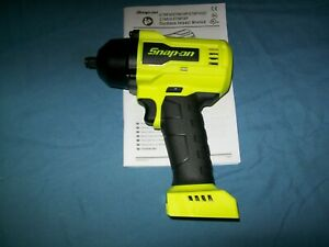 New Snap On Ct9010hvdb 18v Cordless Brushless 3 8 Impact Wrench Tool Only
