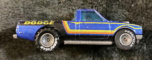 Vintage 1979 Hot Wheels Dodge Mf Blue Pickup Truck Without Top Goodyear Tires