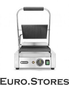 Hendi Stainless Steel Gastro Kebab Contact Grill Commercial Sandwich Toaster
