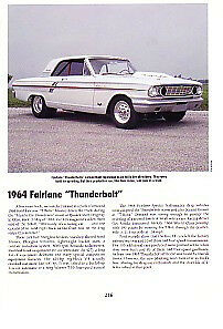 1964 Ford Fairlane Thunderbolt 427 Article Must See