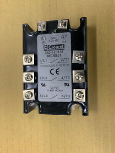 Crouzet 3 Phase Solid State Relay Ga3 12d45r