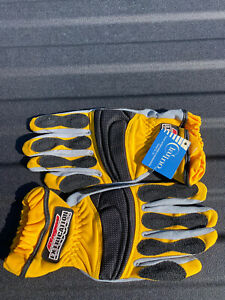 Ringers Gloves Yellow Extrication Size Large With Tags