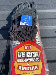 Ringers Gloves Black Tactical Extrication Size Tags Machine Washable